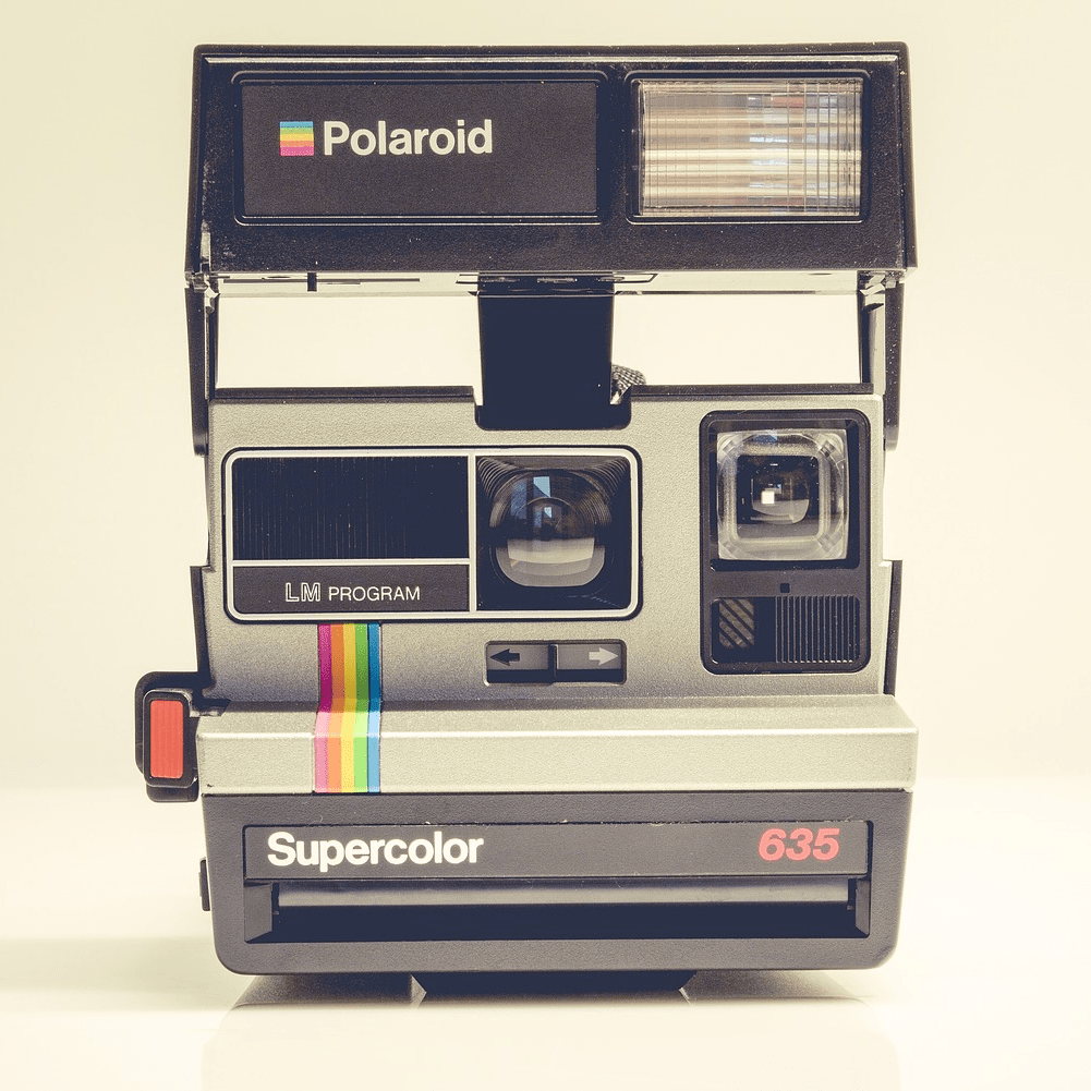 Like A Polaroid Picture…..Shake It!