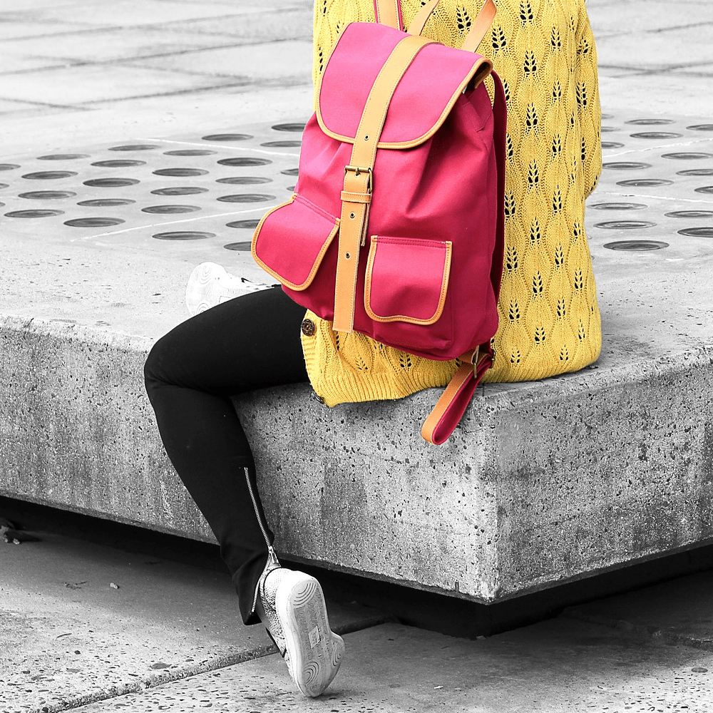 Backpacks, Trainers and High Heels