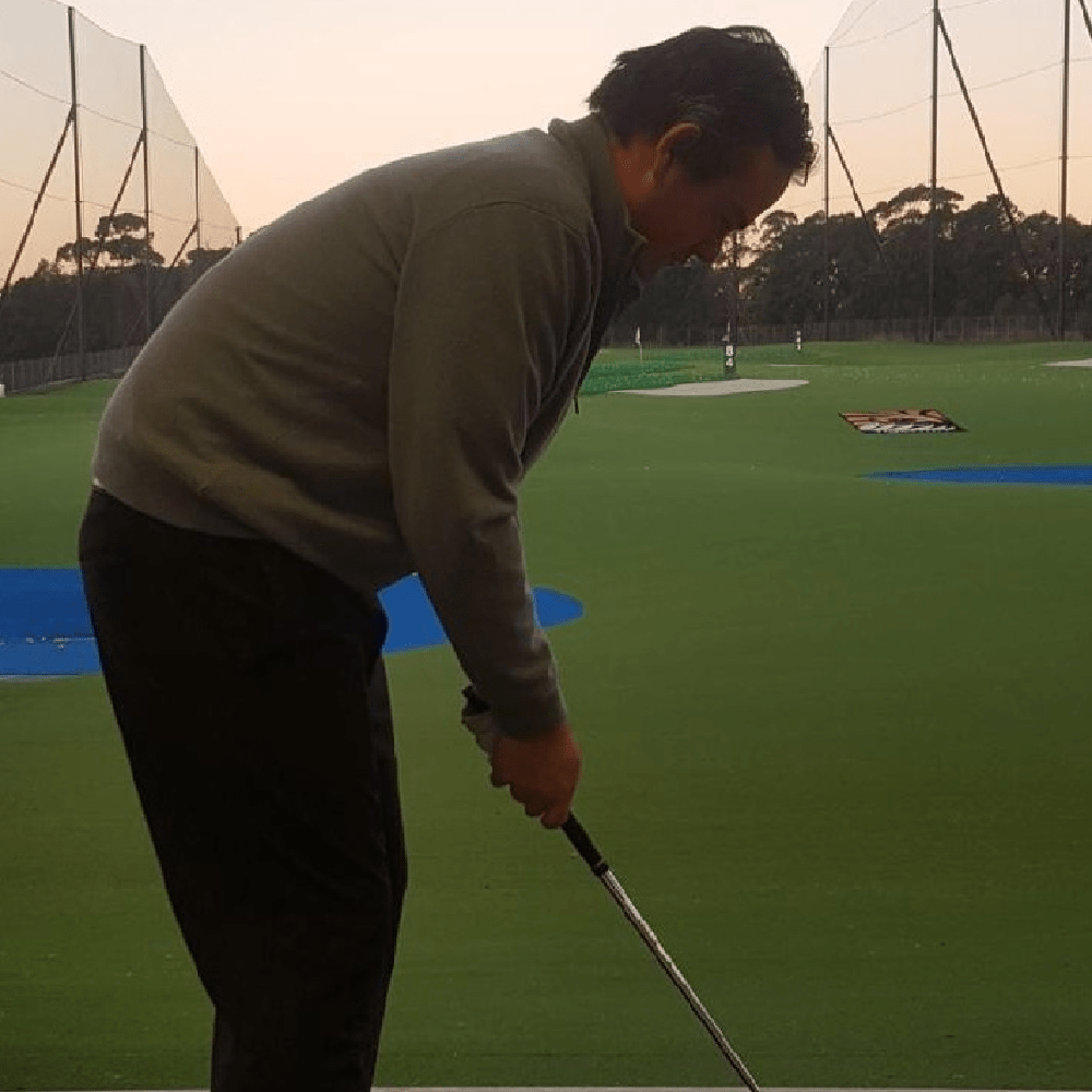 C-Posture in Golfers