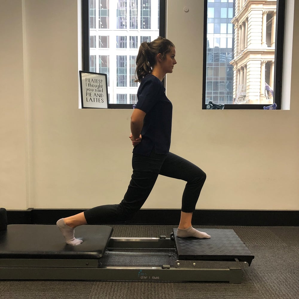 Pilates Reformer Vs Mat Exercise: Lunges